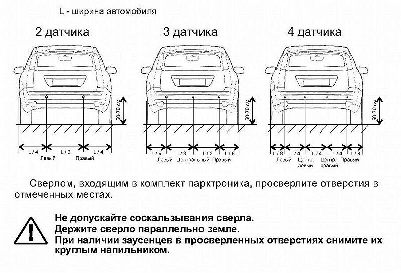 Установка парктроника