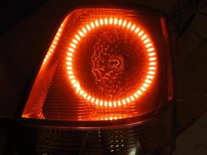 Тюнинг задних фонарей  автомобиля