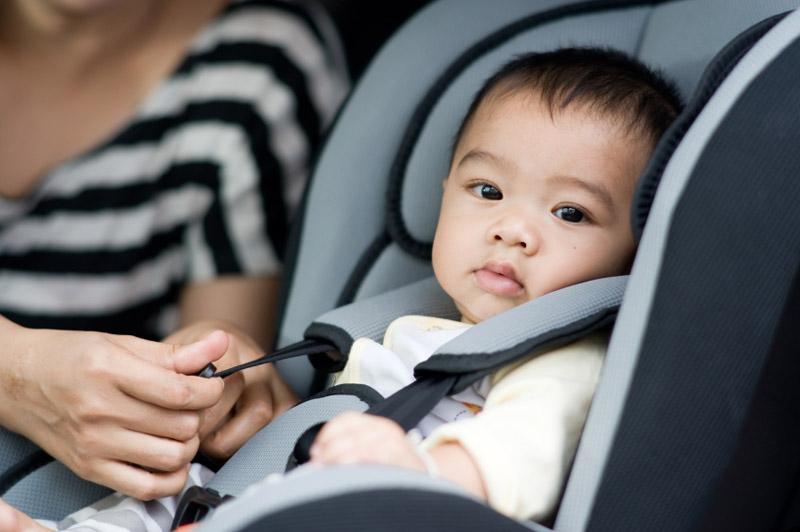 Перевозка  ребенка в автомобильном кресле