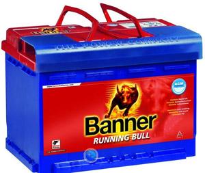 Аккумулятор Banner Running Bull
