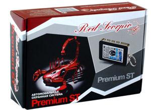 Сигнализация Red Scorpio Premium