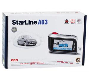Сигнализация Starline A63